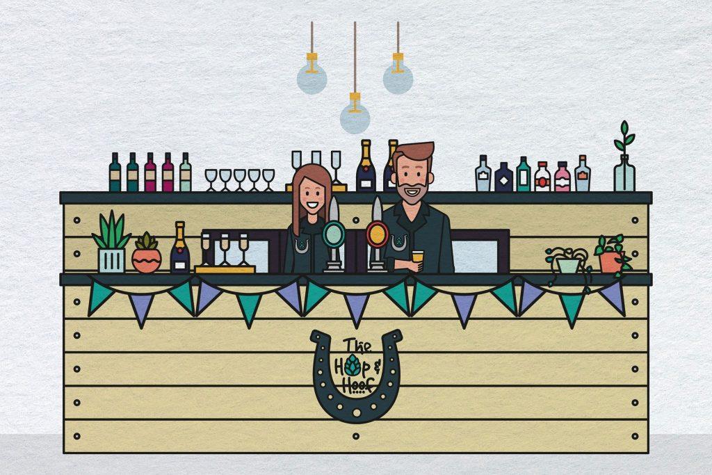 mobile bar illustration